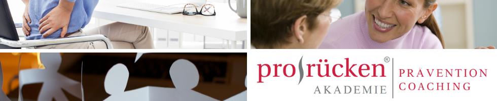 prorücken® Akademie | Gesundheitscoaching