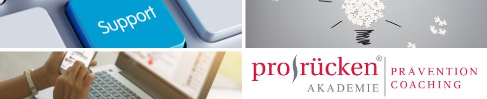 prorücken® Akademie | Technischer Support ZPP, Zoom